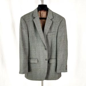 Izod Men Gray Sport Coat Blazer
